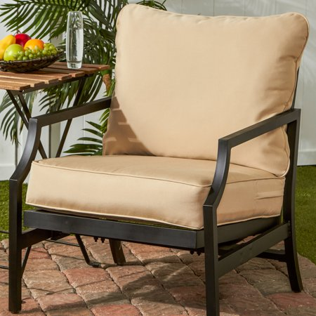 Greendale Home Fashions Outdoor Solid Deep Seat Cushion Set ()