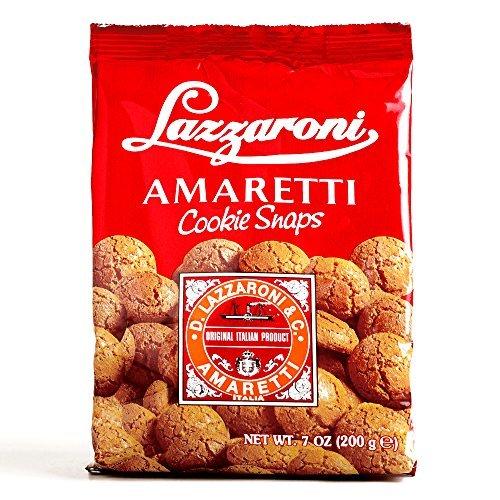 Lazzaroni Amaretti Cookie Snaps 7 oz each (3 Items Per Or...