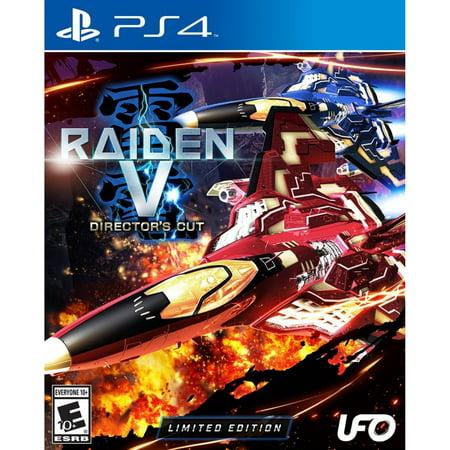 Raiden V: Director's Cut Limited Edition, UFO Interactive, PlayStation 4, Preowned/Refurbished (Mafia 2 Directors Cut)