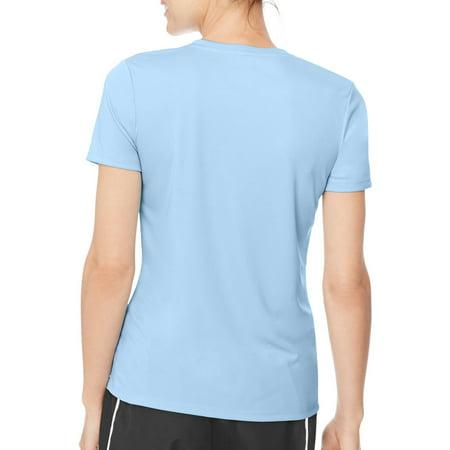 533e7d9cd51e Hanes Sport Women s Cool DRI Performance T-Shirt (50+ UPF) - Best ...