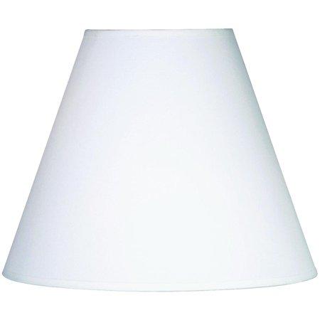 Kenroy Fashion Match White Round Table Lamp Shade