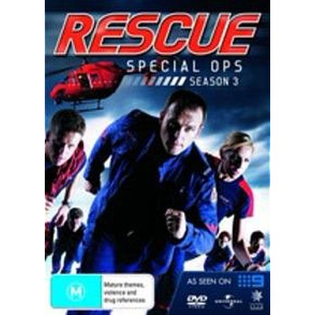 Rescue Special Ops (Season 3) - 6-DVD Set ( Rescue Special Ops - Season Three ) [ NON-USA FORMAT, PAL, Reg.2.4 Import - Australia ] Special Ops Paintball Vests