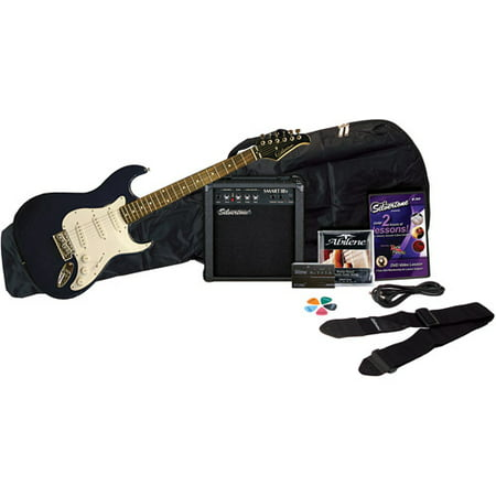 Silvertone Revolver Electric Guitar Package With