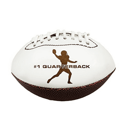 Position 3D Laser Engraved Miniature Toy 7 inch Football