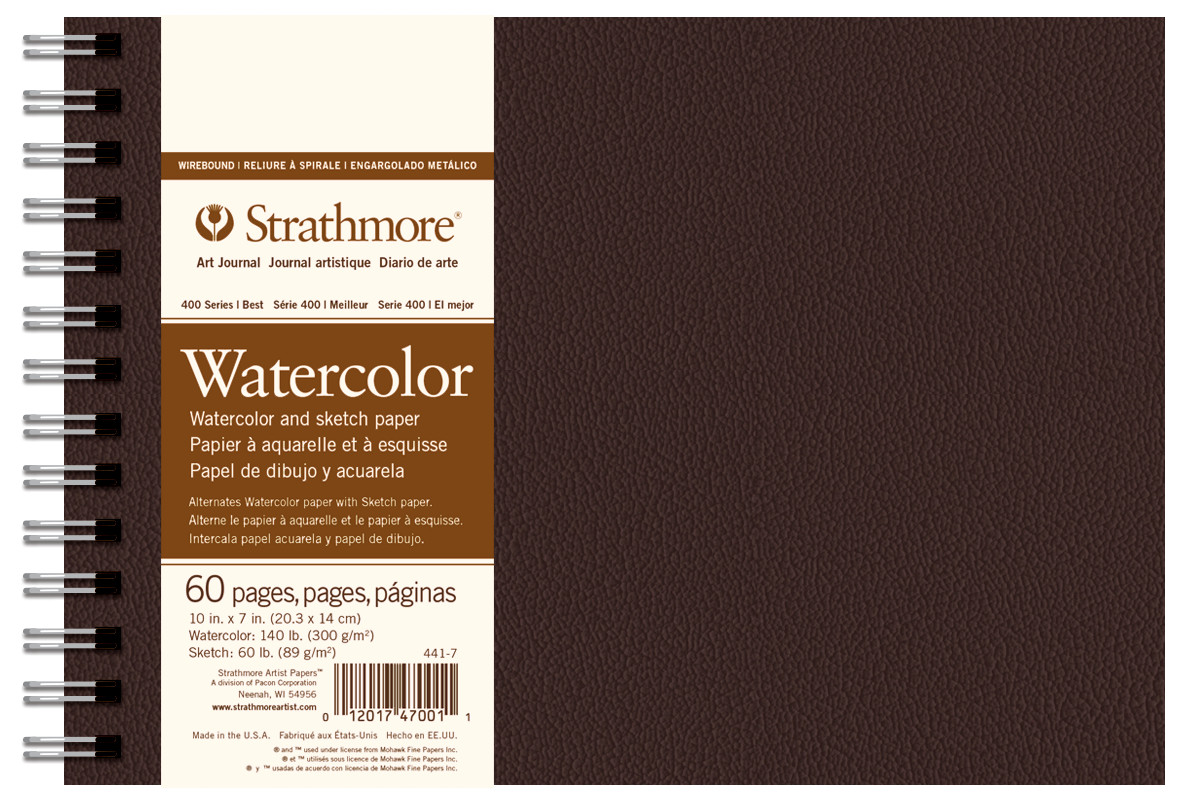 Strathmore Field Watercolor Book 10X7