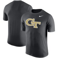 Georgia Tech Yellow Jackets Nike Legend Logo Sideline Performance T-Shirt - Anthracite