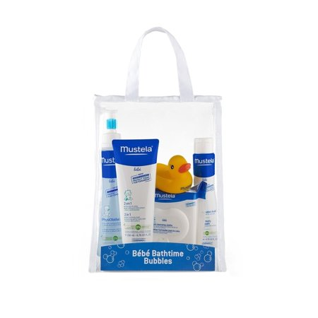 Mustela for Kids Bebe Bath Time Bubbles Gift Set, 28 pc