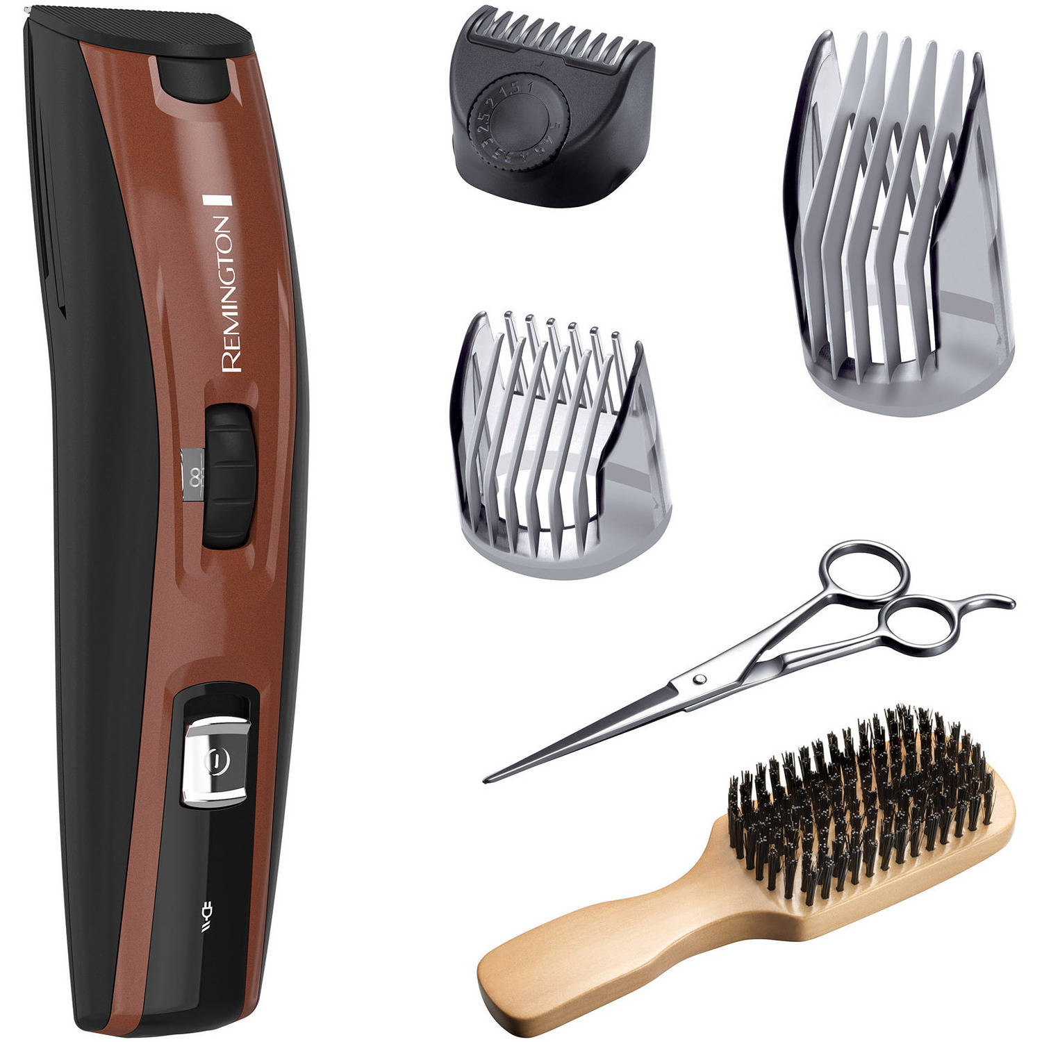 Remington Beard Boss The Beardsman Full Beard Grooming Kit, MB4045A, 6 pc