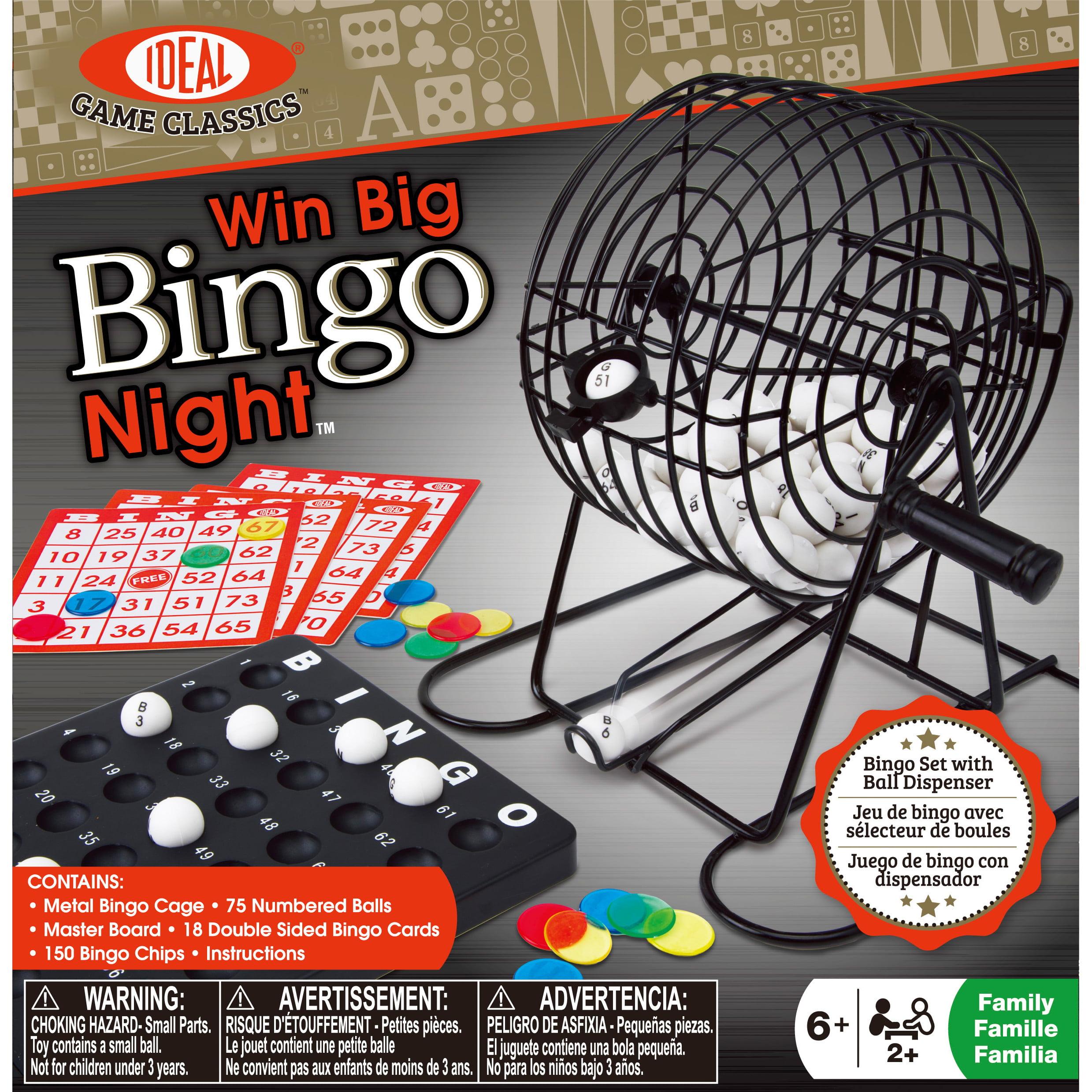 Ideal Win Big Bingo Night