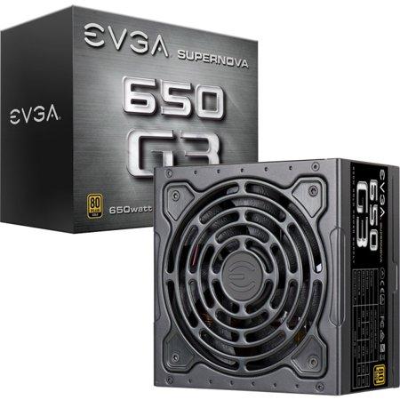 EVGA Supernova 650 G3 80 Plus Gold 650W Fully Modular Power Supply -
