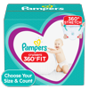 Pampers Cruisers 360 Fit Active Comfort Diapers, Size 3, 156 ct
