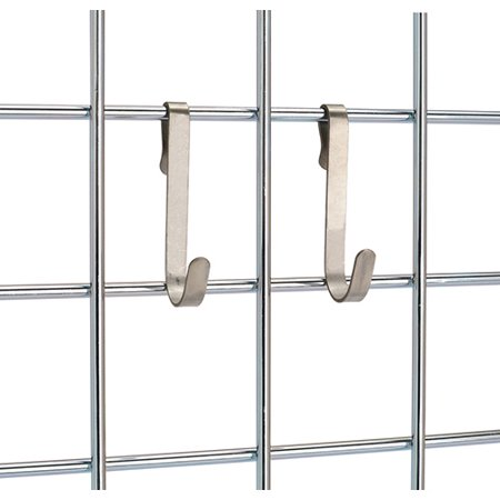 Ez Coupon Organizer - 12 Pack of Stainless Steel Hooks for EZ Wall Organizer