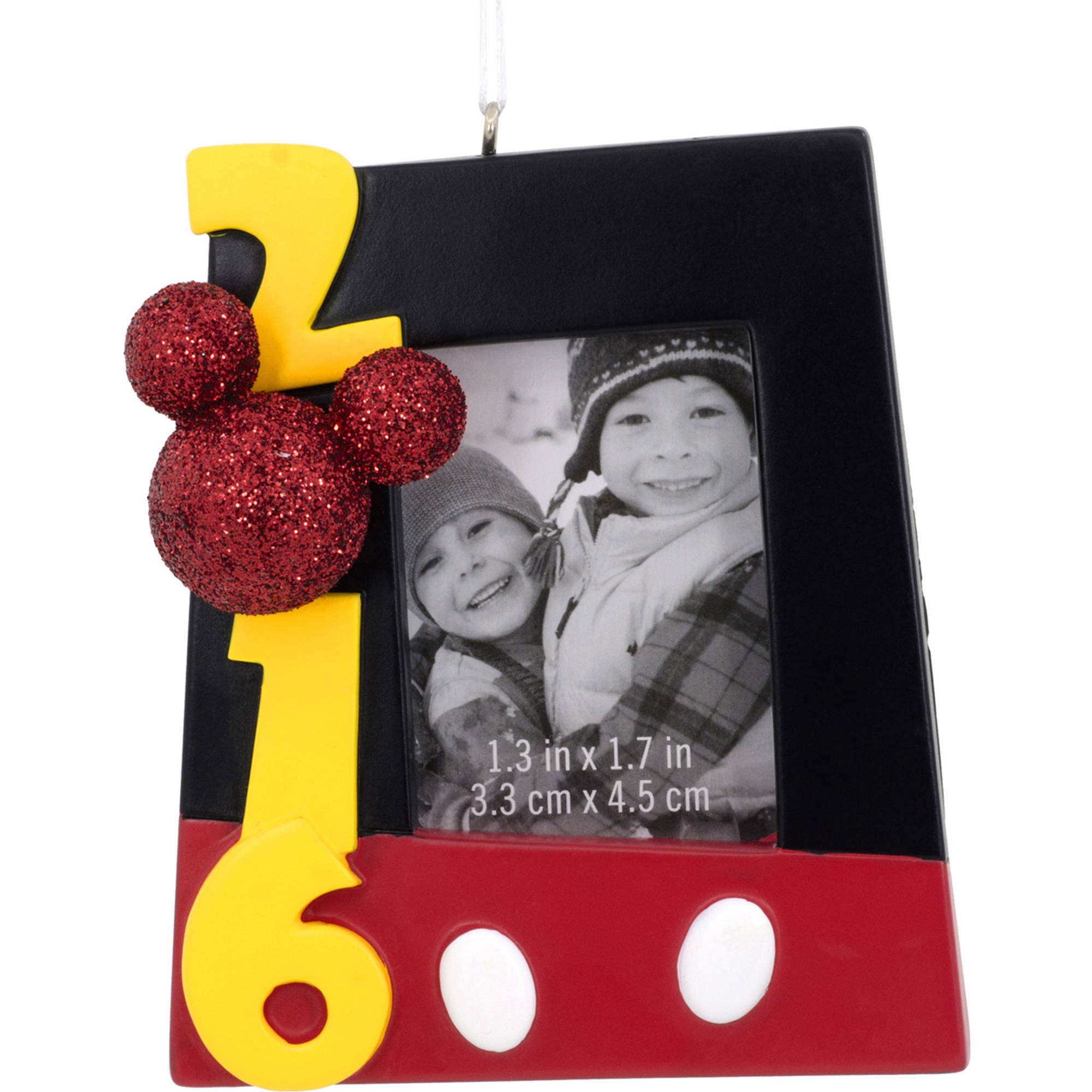 Hallmark 2016 Disney Mickey Mouse Rectangular Photo Frame Ornament