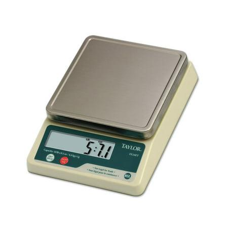 Taylor 10 lb Digital Portion Control Scale - 5 7/8