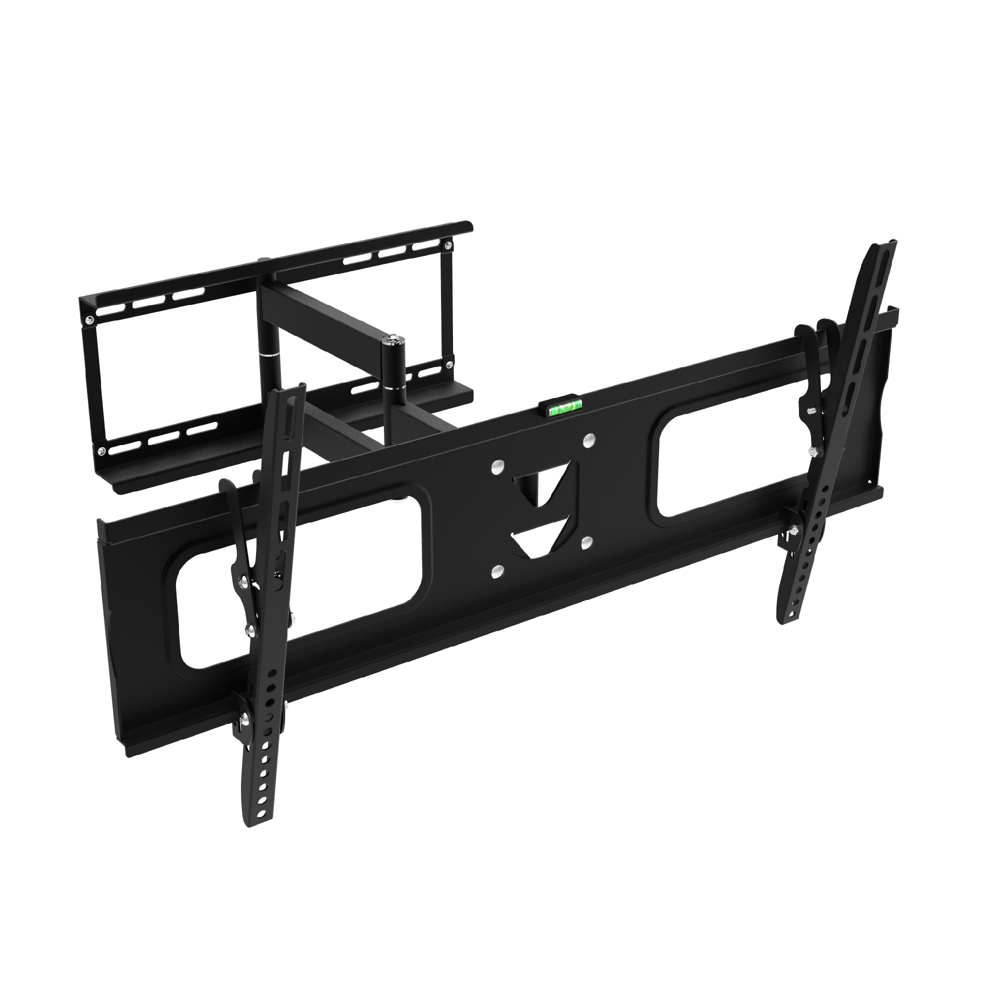 "Ematic Full-Motion Articulating, Tilt/Swivel Universal Wall Mount for 19""-80"" TVs with 15' HDMI Cable"