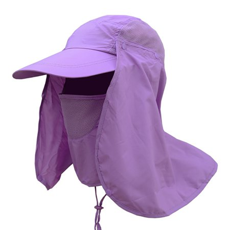 Fysho Unisex Fishing Flap Caps Quick Dry UV Protection Removable Ear Neck Cover