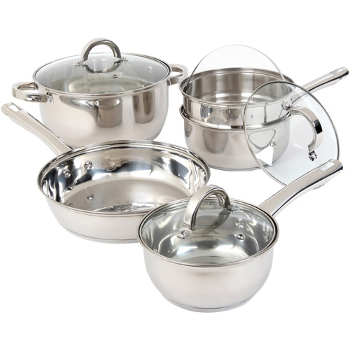 Oster Westmarch 8 pc. Stainless Steel Cookware Set