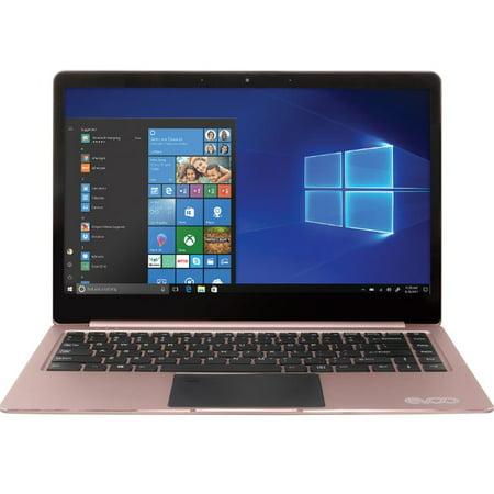 Manufacture Refurbished EVOO EV-CE-141-2 Elite 4GB 32GB 14.1-inch FHD Windows 10 Rose Gold Laptop
