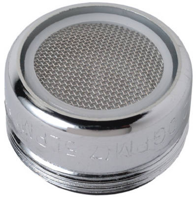 "Faucet Aerator, M, Chrome-plated Brass, 15/16"" X 27-thread, Brass Craft, SF0059X"