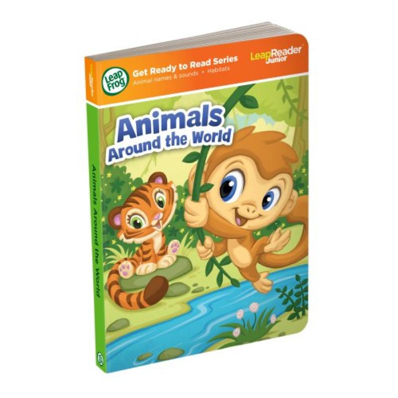 LeapFrog LeapReader Junior Book: Animals Around the World (works with Tag Junior) by LeapFrog