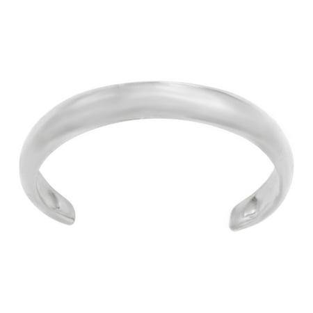 Lavari - 10K White Gold Toe Ring Adjustable