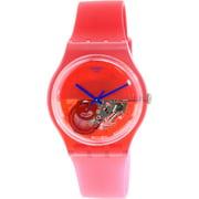 Men's Originals SUOR103 Pom Berry Silicone Swiss Quartz Watch
