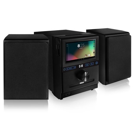 Rca Rcs13101e Google Powered Internet Music System With 7 Inch Multi Touch Lcd