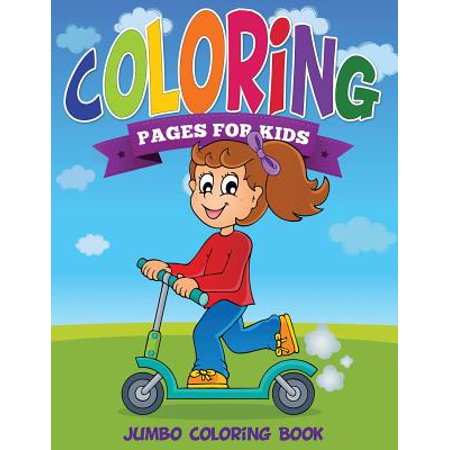 Coloring pages for kids jumbo coloring book Coloring book walmart