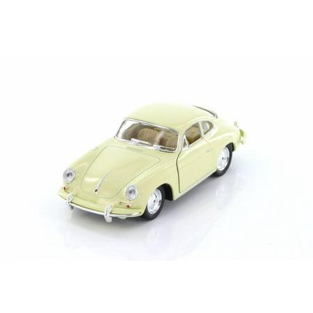 Porsche 356 B Carrera 2 Hard Top, Cream - Kinsmart 5398D - 1/32 scale Diecast Model Toy Car (Brand New but NO BOX) (Carrera Sonnenbrille 57)