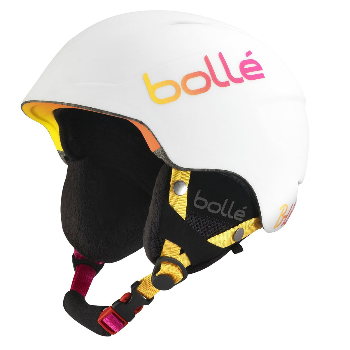 *Bolle Helmets 30989 Soft White and Pink 53-57cm B-Lieve