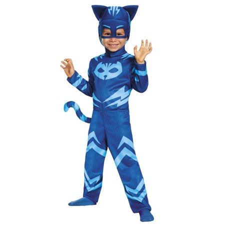 Morris Costumes DG17145M Catboy Classic Toddler Costume, Size 3 - 4 (Tall Size Costumes)