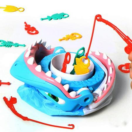Shark Style Board Game Interactive Family Fun Game Toys Desktop Party Toy (Interactive Shark)