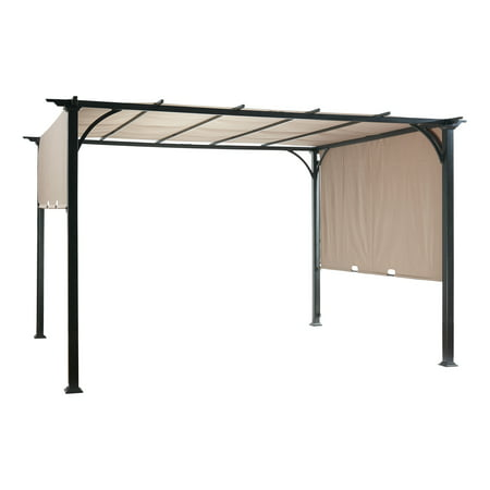 Better Homes & Gardens Alta Vista Outdoor Pergola with Retractable