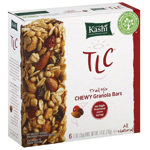 Kashi Trail Mix Granola Bar, 6 Count, 8.