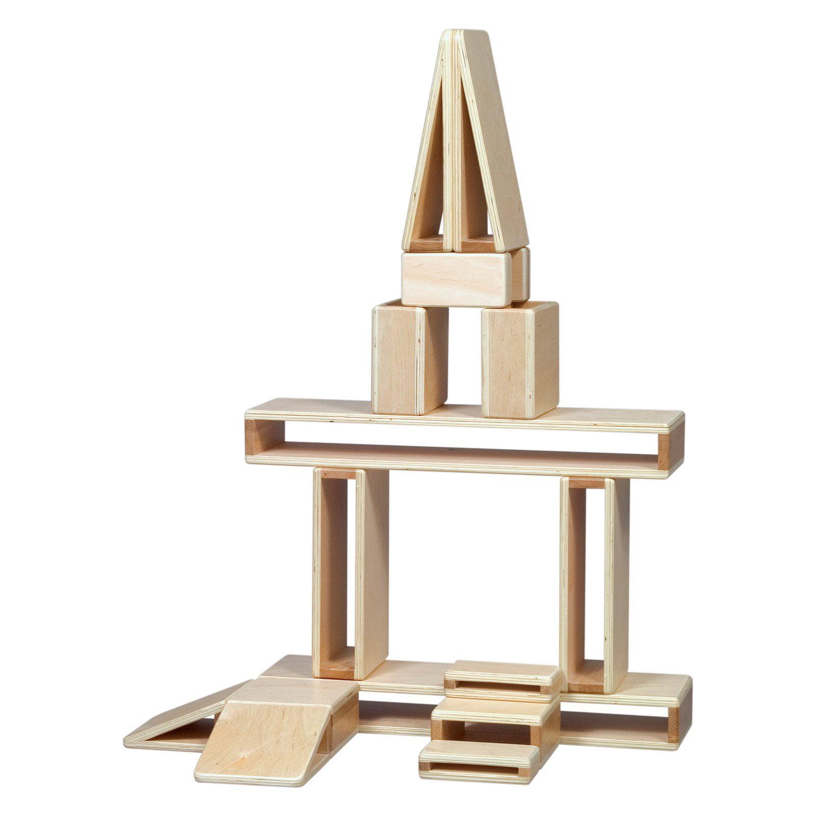 Guidecraft Mini Hollow Blocks, Set of 16