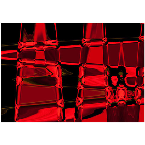 "Trademark Fine Art ""Abstract II"" Canvas Art by Martha Guerra, 22x32"