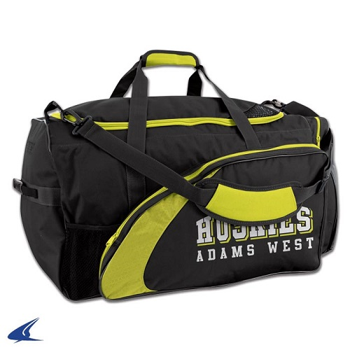 CHAMPRO Football Equipment Bag Black/Yellow