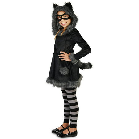 Raccoon Child Halloween Costume](Raccoon Halloween Costume)