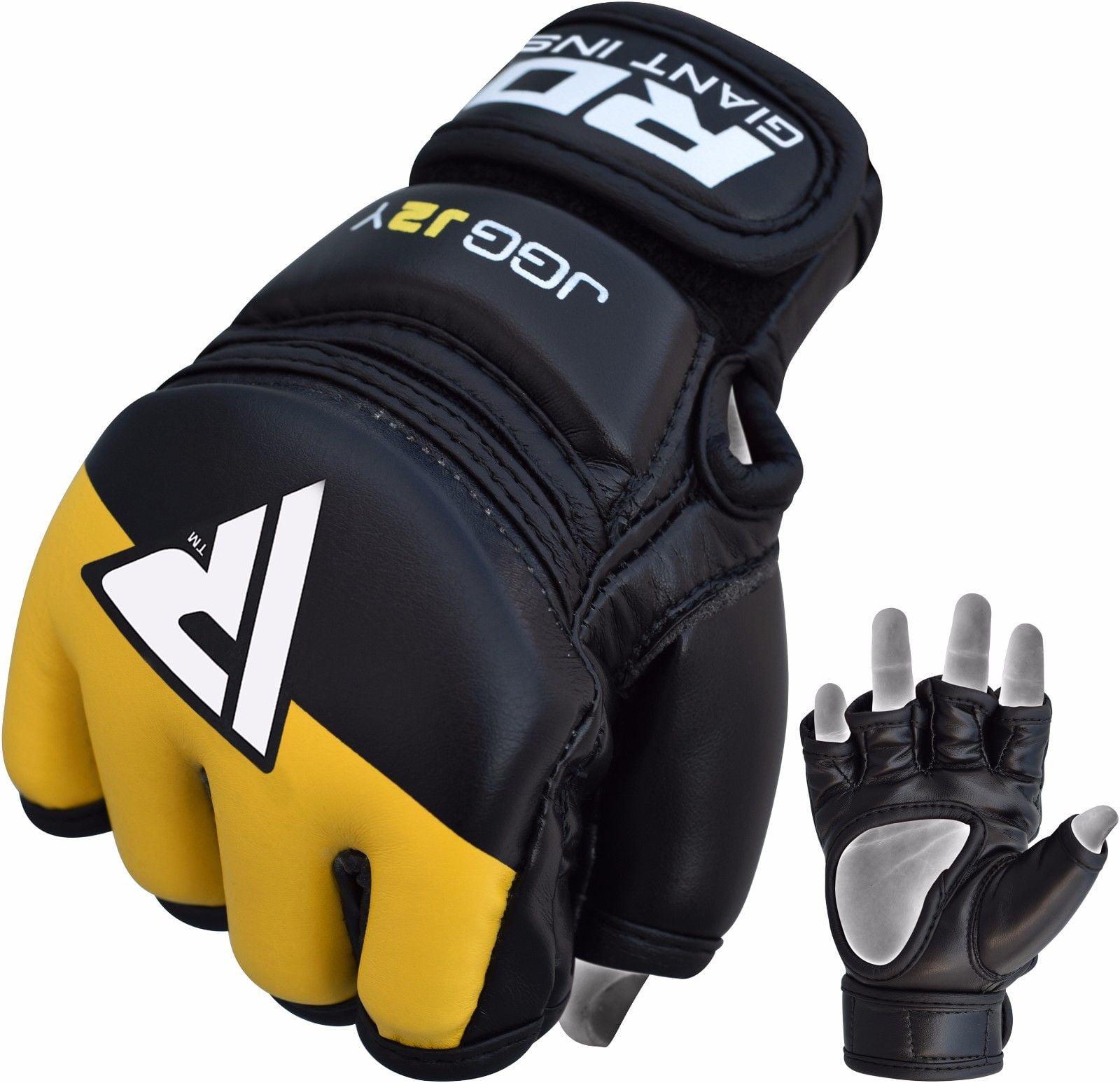 RDX MMA Kids J2 Gloves UFC Training Punching bag Boxing Grappling Junior