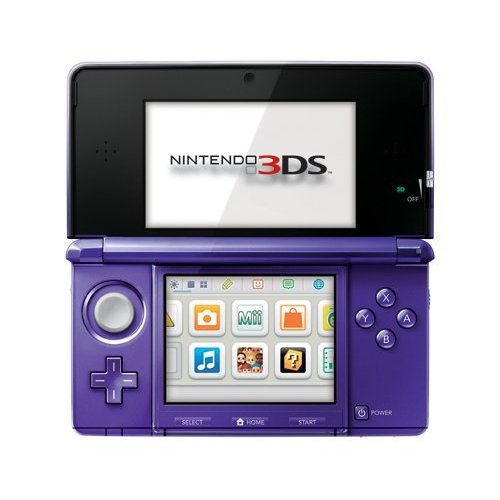 Refurbished Nintendo 3DS Midnight Purple