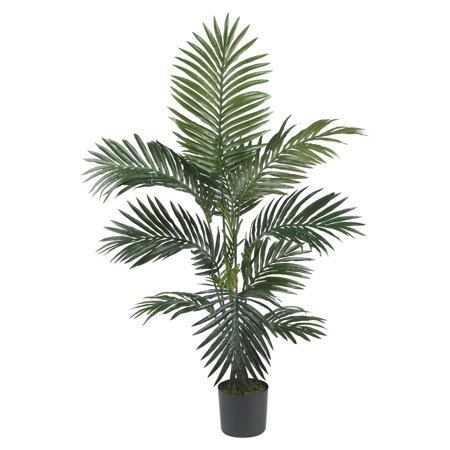 Nearly Natural 4 ft. Kentia Palm Silk Tree](Party Palm Trees)