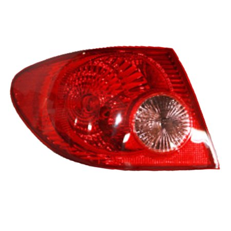 NEW LEFT TAIL LIGHT FITS TOYOTA COROLLA 2005-08 TO2800154 81560-02290 8156002290 05 Toyota Corolla Tail Lights