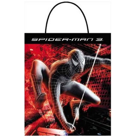Spiderman 3 Trick or Treat Bag Party Favors - Halloween Trick Or Treat Bags To Make