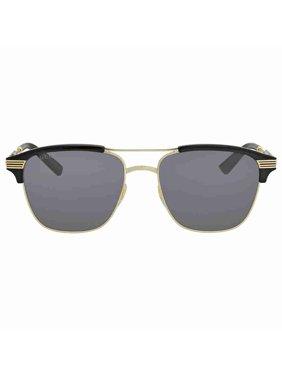 2524865bd63 Product Image Gucci Grey Square Sunglasses GG0241S 002 54
