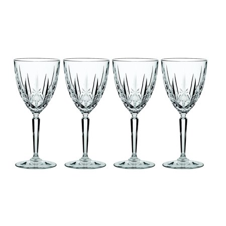 Sparkle Wine Glass, Set of 4, Wine glass holds 9-ounce By Marquis By