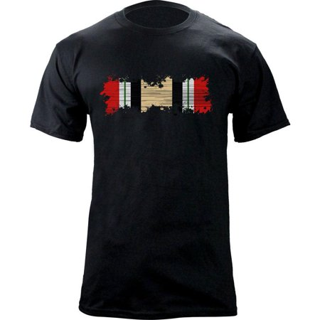 Distressed Iraq Campaign Medal Ribbon Veteran T-Shirt