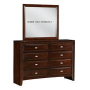 Roundhill Furniture Emily 8 Drawer Dresser