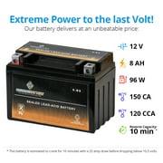 Ytx9 Bs Motorcycle Battery For Kawasaki Z800 Abs Year 13 16