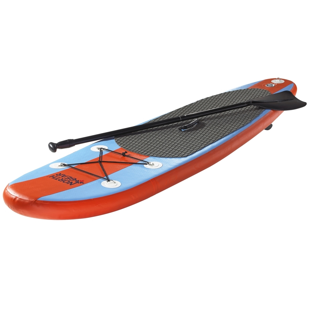 North Gear 11FT Inflatable SUP Stand up Paddle Board Package Set Ocean Blue Orange by