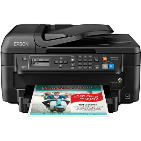 Epson WorkForce WF-2750 All-in-One Wireless Color Printer/Copier/Scanner/Fax -